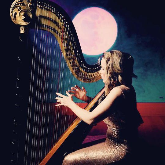 Harpist Erica Messer