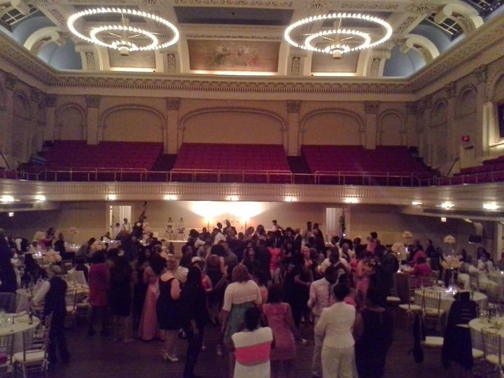Wedding at Mechanics Hall in Worcester, MA