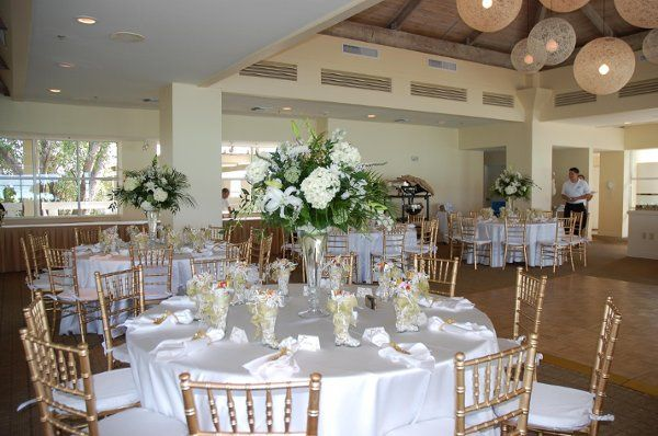 Full Decor packages selection includes several colors of chiavari chairs and cushions, linens,...