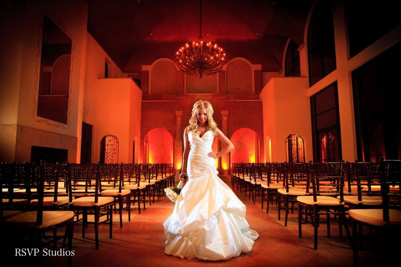 Bride in the venue