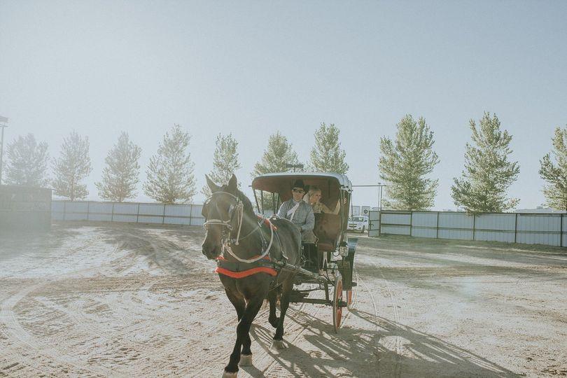 The coach ride