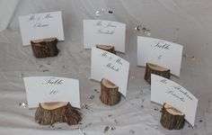 These can be used for escort card holder, menu card holders, business card holders, etc!