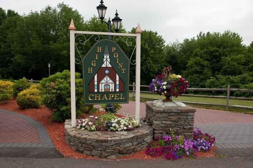 Entrance of chapel