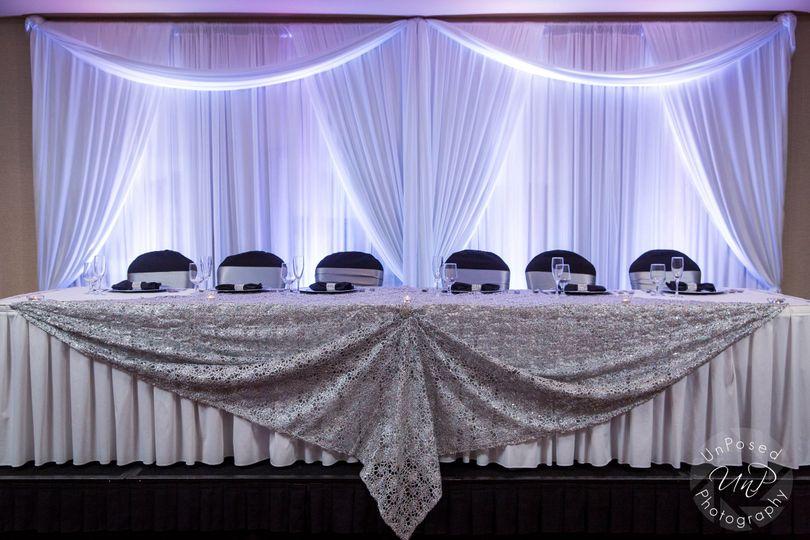 Sponsor's table
