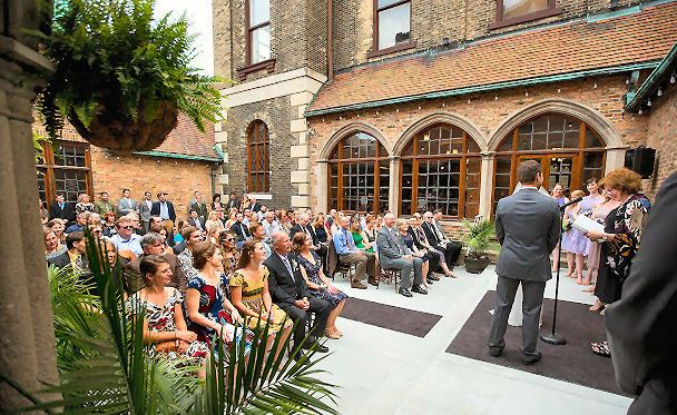 Best Place - Captain's Courtyard Wedding