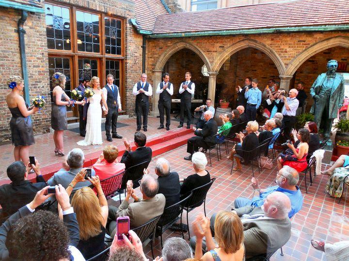 Best Place - Captain's Courtyard Wedding