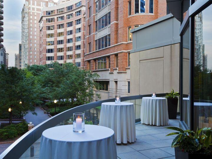 Tmx 1452982605028 Westin Arlington Fitzgerald Outdoor Terrace Arlington, VA wedding venue