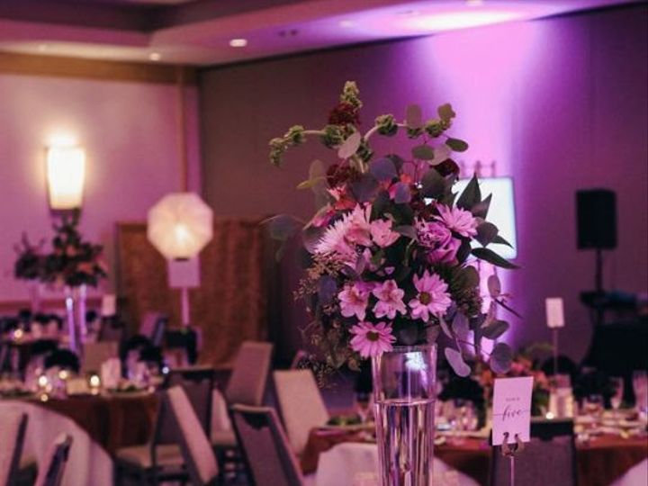Tmx Jen And Ben Uplighting And Tall Vase 51 43918 158231385419079 Arlington, VA wedding venue