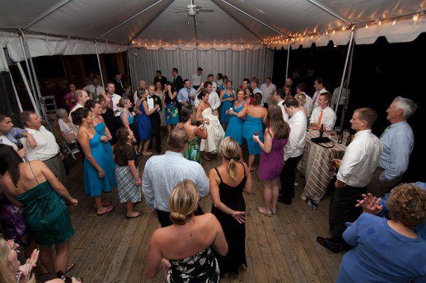 Wedding dance floor