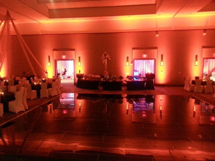 Tmx 1422310735403 Orange Uplights 1 Odenton, MD wedding dj