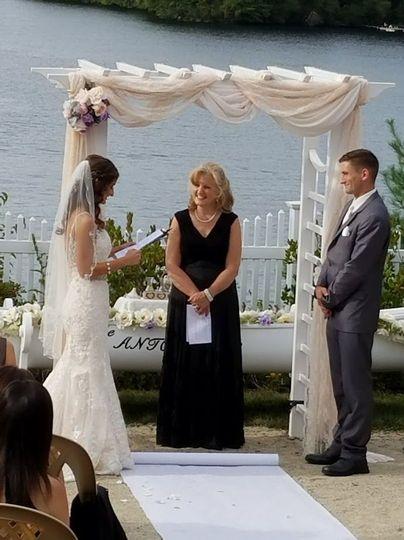 Melissa's vows
