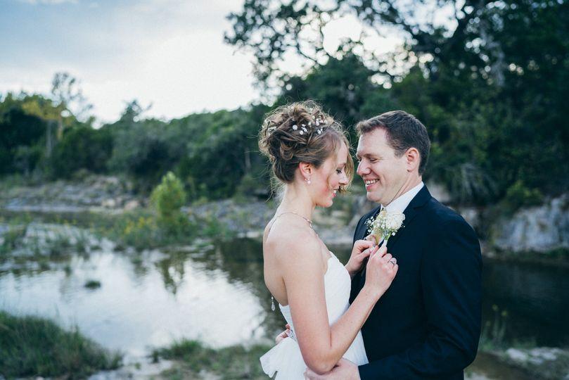 Samantha & Joe at the Creek