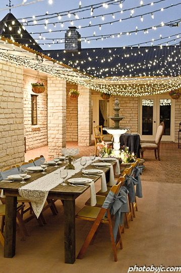 Courtyard Private Dinner