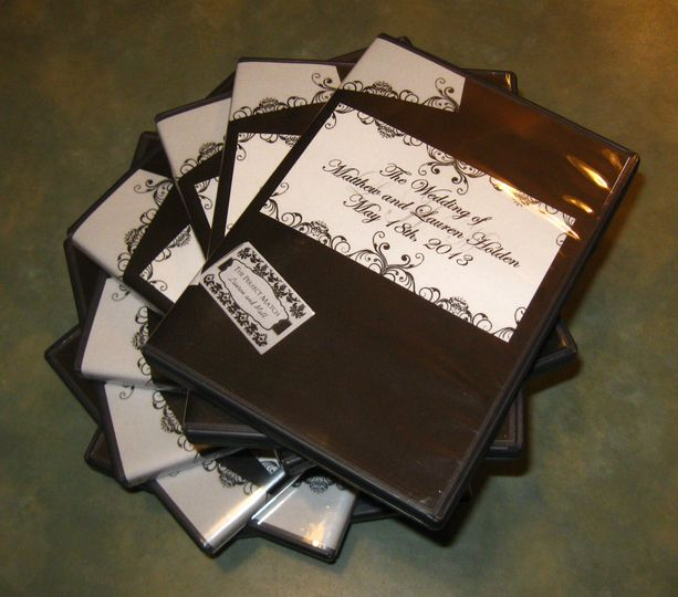Wedding package ready for delivery 10 Custom DVDs
