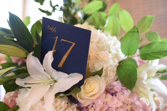 Table number 17