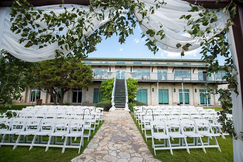 Ceremony area and venue