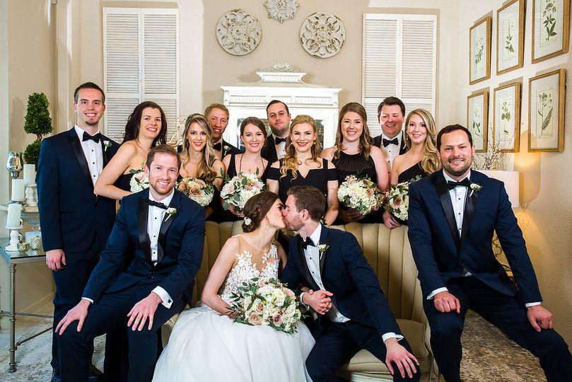 Bridal party-foyer
