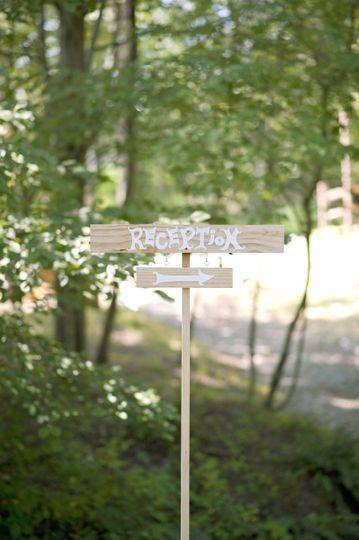 reception signagewillow creek
