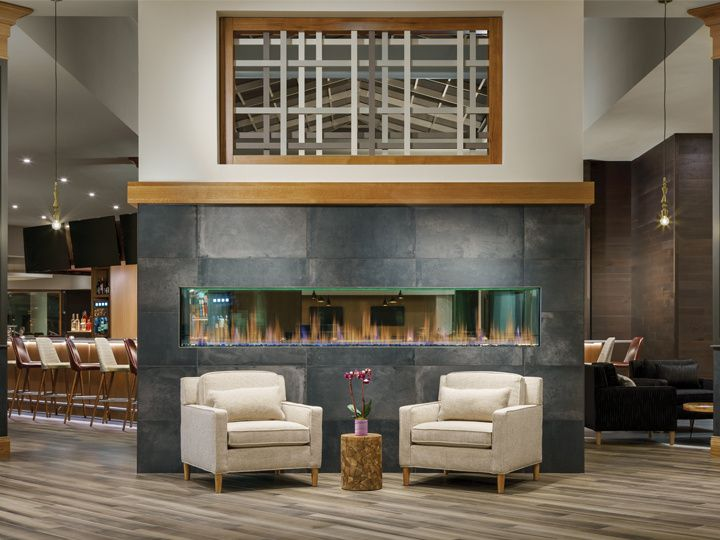 Welcoming Fireplace in Lobby
