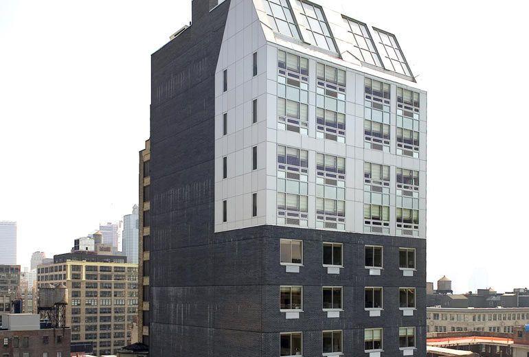 Exterior view of the Four Points By Sheraton Manhattan SoHo Village