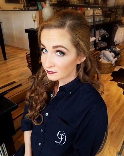 Flawless makeup look