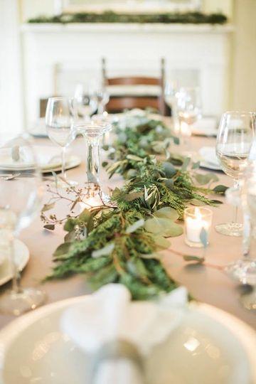 aa wedding table