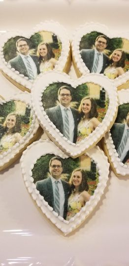 Engagement photo cookies