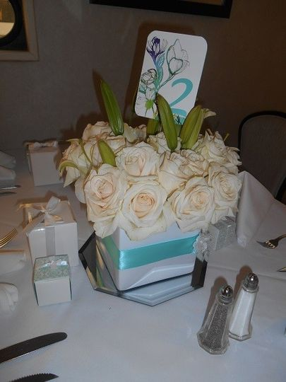 square centerpiece