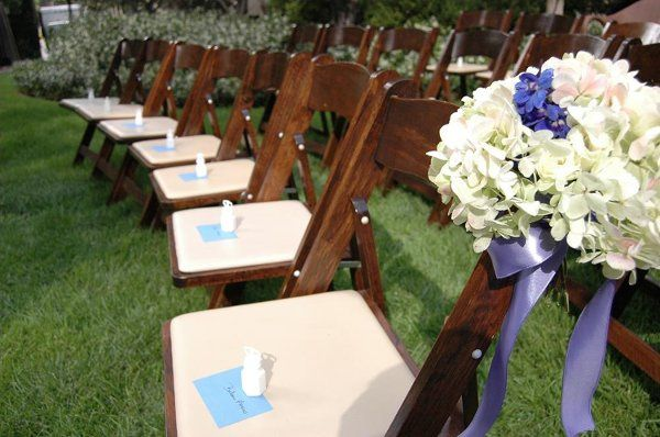 Ceremony Chairs - L.A. Downtown Public Park