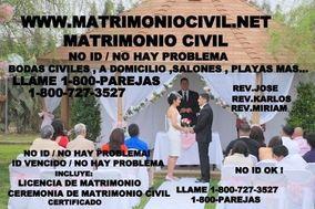 MATRIMONIO CIVIL 1-800-PAREJAS