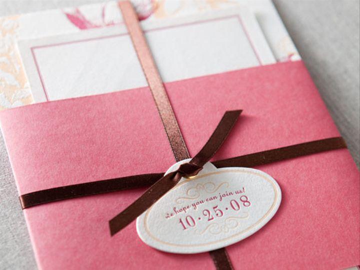 Tmx 1437762575864 Dp1gallerypeonydauphinepressletterpress 02 Ridgefield, New Jersey wedding invitation