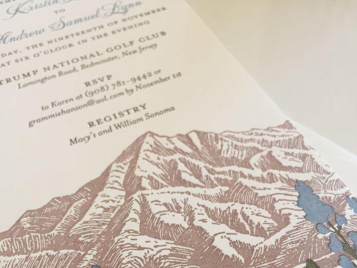 Tmx 1437762609875 Fullsizerender Ridgefield, New Jersey wedding invitation