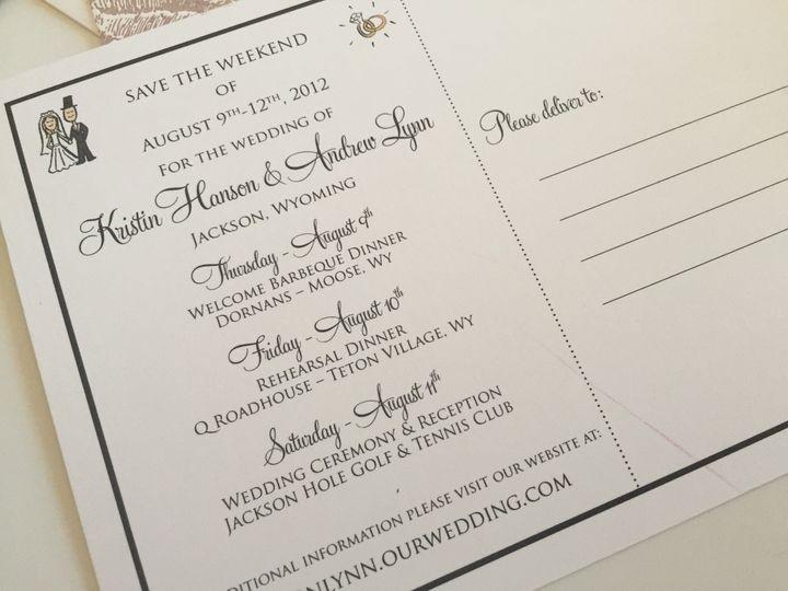 Tmx 1437762735076 Img9033 Ridgefield, New Jersey wedding invitation