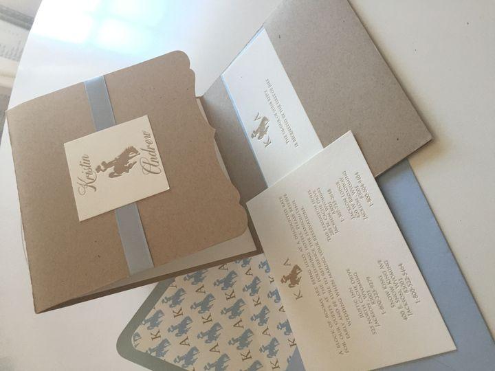 Tmx 1437762751670 Img9060 Ridgefield, New Jersey wedding invitation