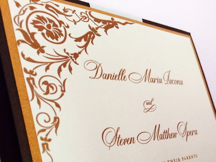 Tmx 1437763818664 Img0330 Ridgefield, New Jersey wedding invitation