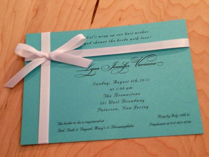 Tmx 1437763885949 Img0299 Ridgefield, New Jersey wedding invitation
