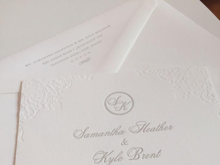 Tmx 1437763967423 Img0468 Ridgefield, New Jersey wedding invitation
