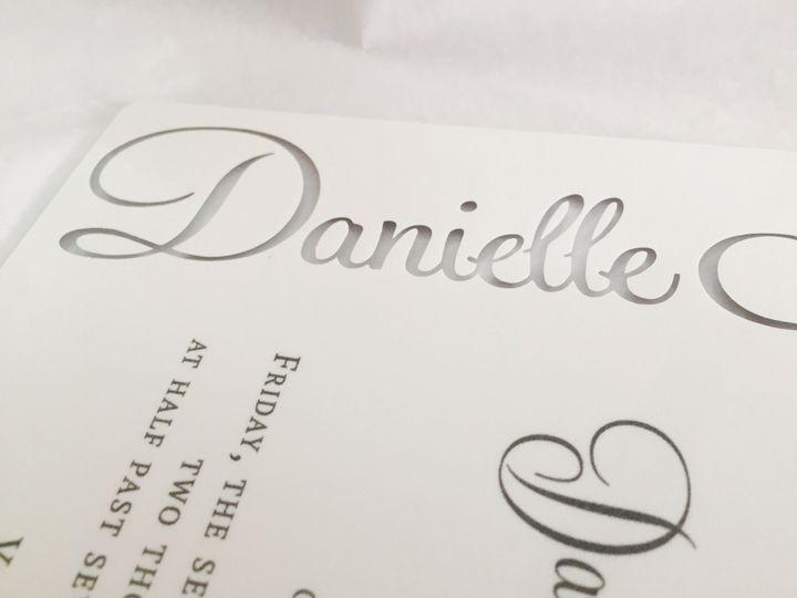 Tmx 1437764002956 Img0486 Ridgefield, New Jersey wedding invitation