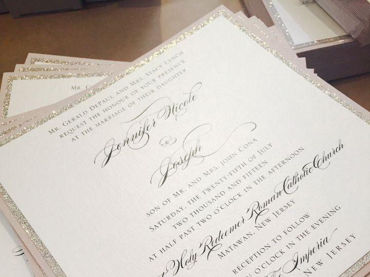 Tmx 1437764040270 Img0493 Ridgefield, New Jersey wedding invitation