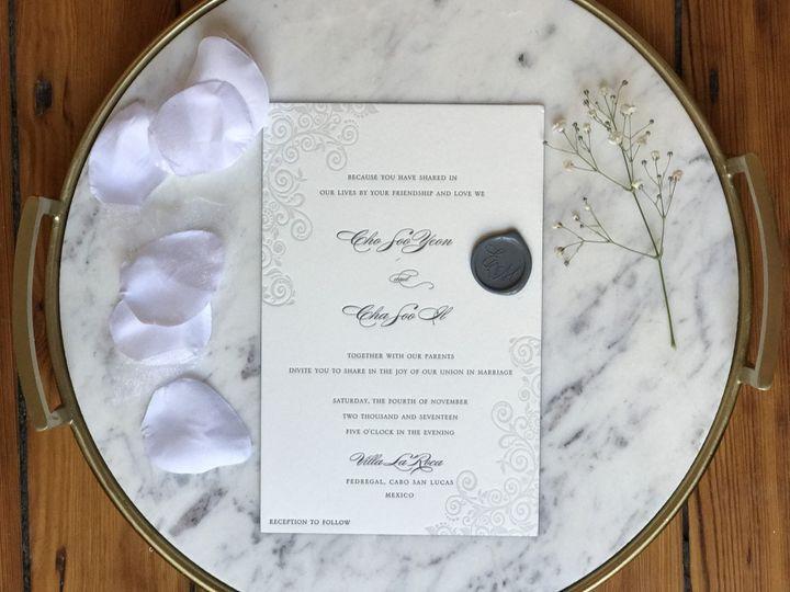 Tmx 1506540841984 Marble Ridgefield, New Jersey wedding invitation