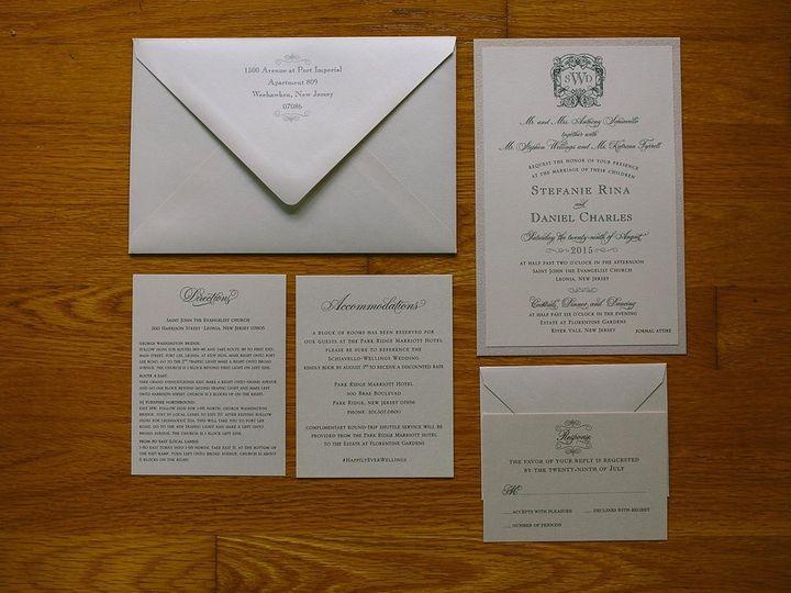 Tmx 1507042063230 Img0098 Ridgefield, New Jersey wedding invitation