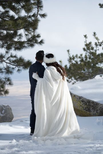 Ridge Tahoe Winter Wedding