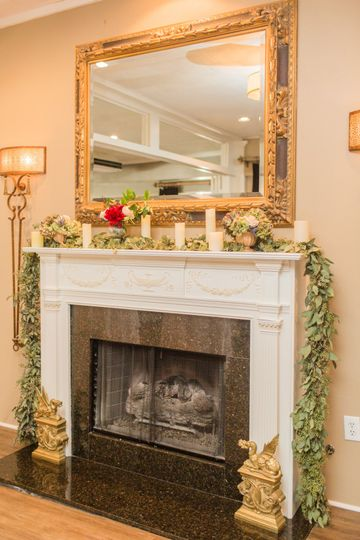2 Fireplaces for Added Accents