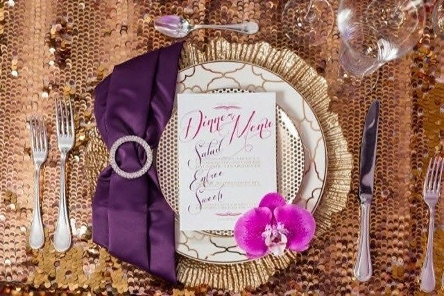 purple and gold styled shoot joey t photography8 6