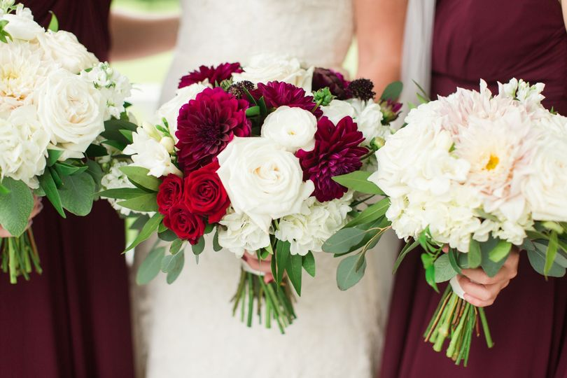 Bridal party- Texas Blooms
