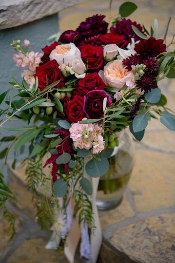 Lush bouquet- Texas Blooms