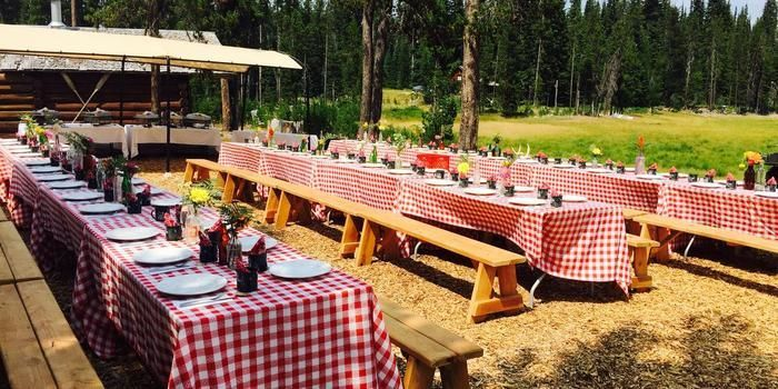 Rustic Picnic Style Reception