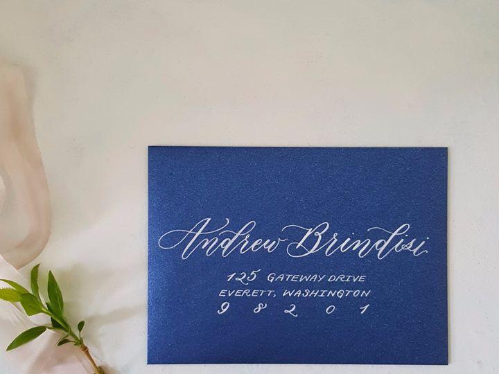 Tmx Etsy Envelope Blue2 51 310128 1559656892 Milwaukee, WI wedding invitation