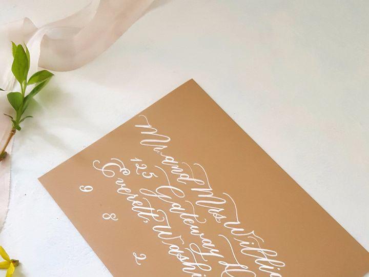 Tmx Etsy Envelopes Brown2 51 310128 1559656675 Milwaukee, WI wedding invitation