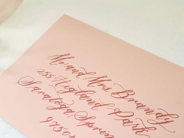 Tmx Etsy Envelopes Pink 51 310128 1559656784 Milwaukee, WI wedding invitation
